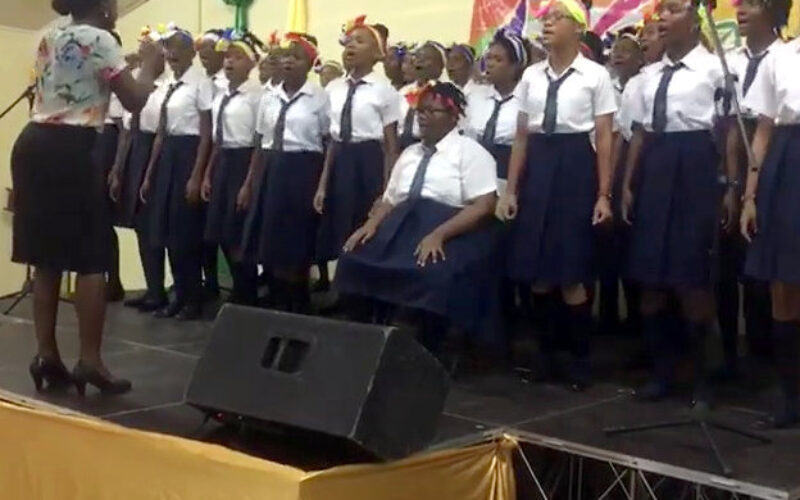 Choir's gold medal performance at the National Schools' Arts Festival