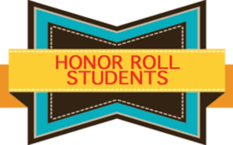 2020-2021 Principal's Honour Roll Term 2